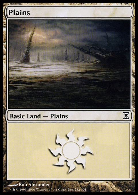 Plains (282)  card from Time Spiral