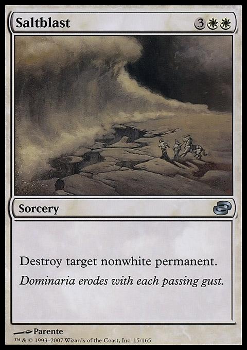 Saltblast card from Planar Chaos