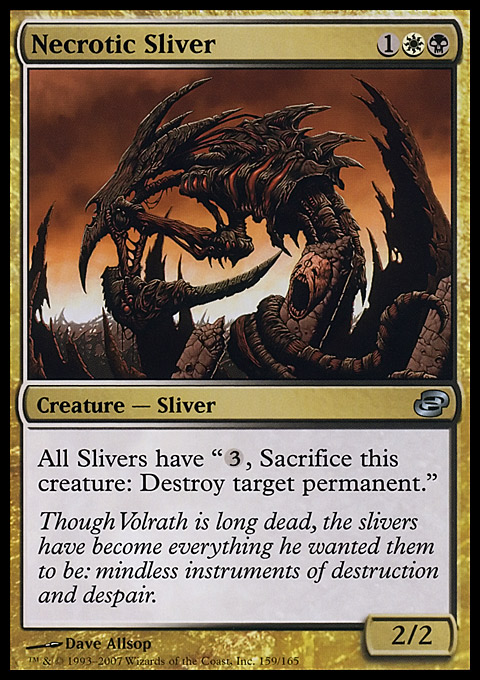 Necrotic Sliver