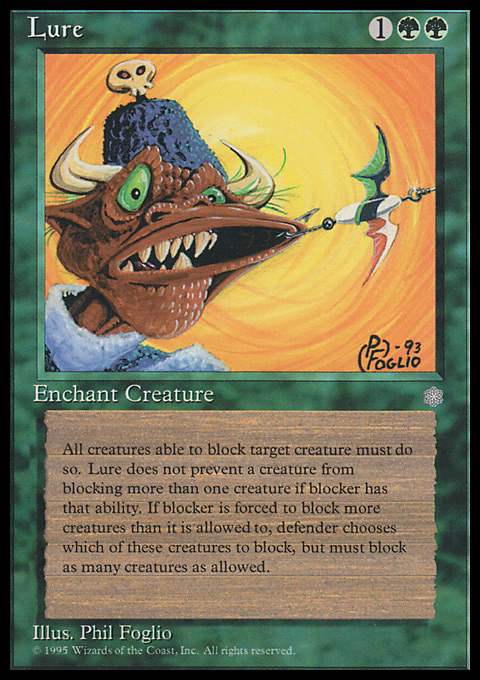 Lure card from Ice Age
