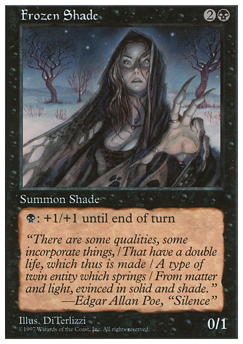Frozen Shade card from Fifth Edition