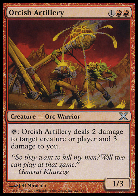 Orcish Artillery