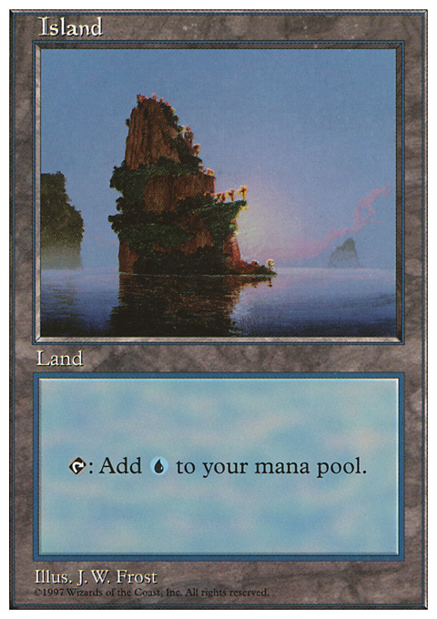 Island original card image