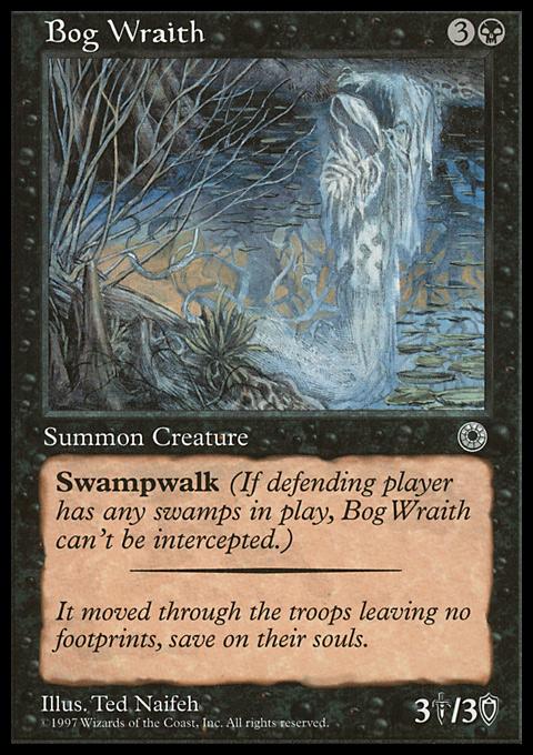 Bog Wraith card from Portal