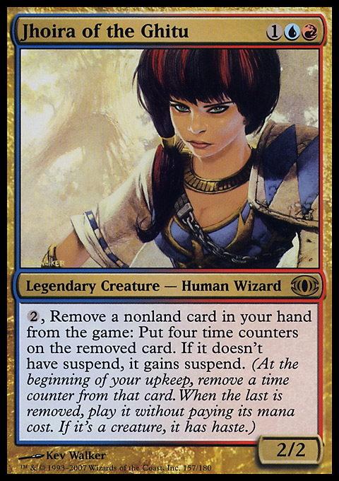 Jhoira of the Ghitu original card image
