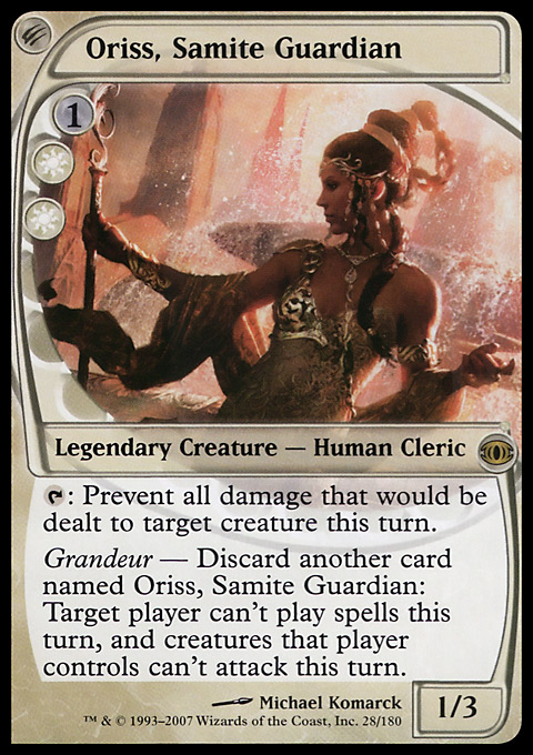 Oriss, Samite Guardian