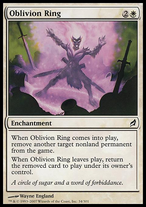 Oblivion Ring original card image