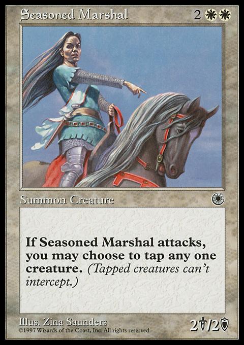 Seasoned Marshal card from Portal