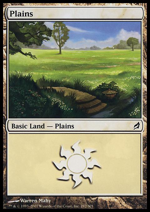 Plains (282)  card from Lorwyn