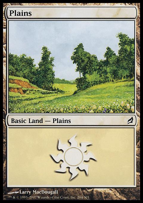 Plains (284)  card from Lorwyn
