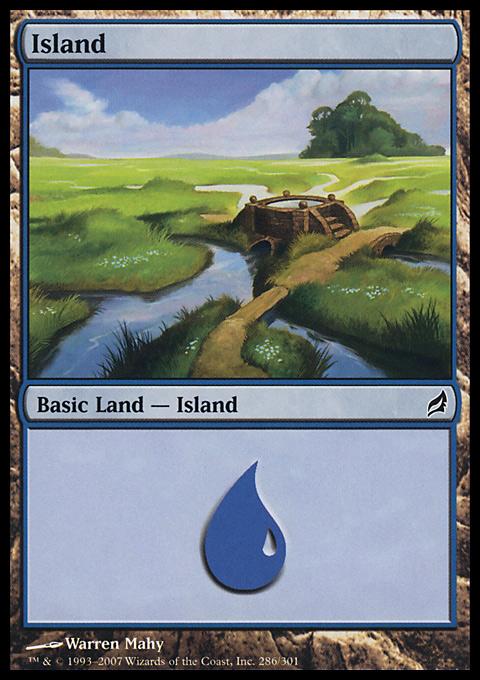 Island (286)  card from Lorwyn