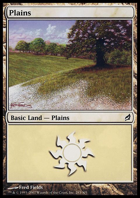 Plains (283)  card from Lorwyn