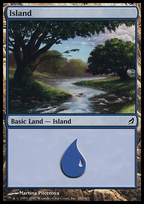 Island (288)  card from Lorwyn
