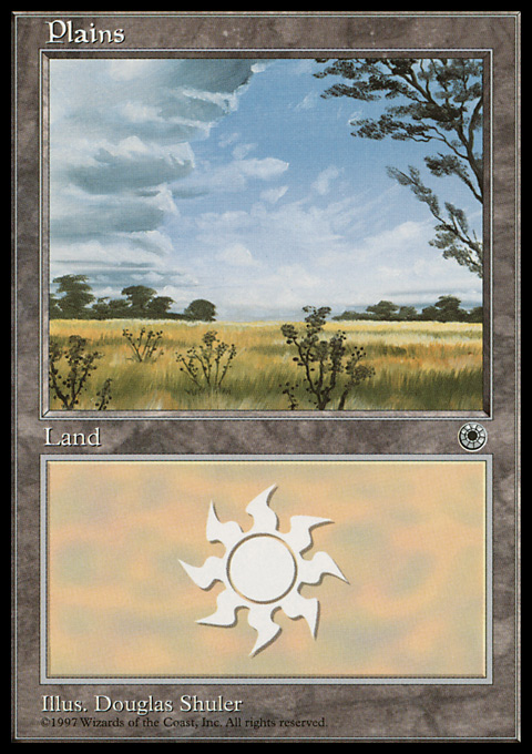 Plains (Clouds Left) card from Portal