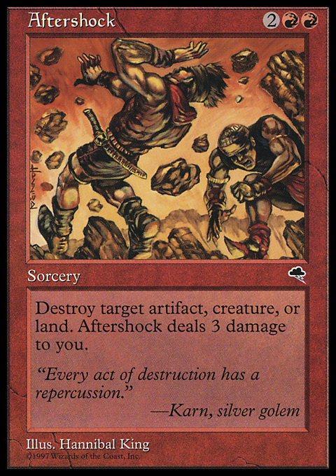 Aftershock original card image