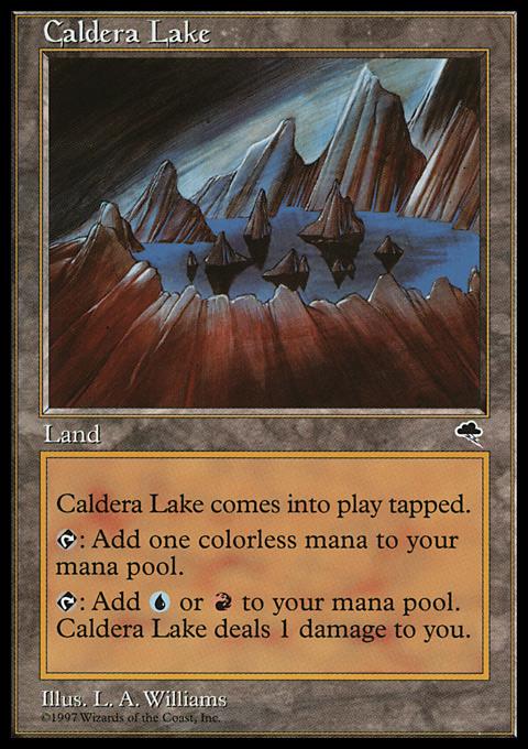 Caldera Lake