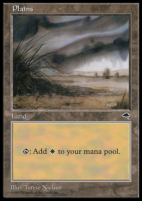 Plains (Shrub) card from Tempest