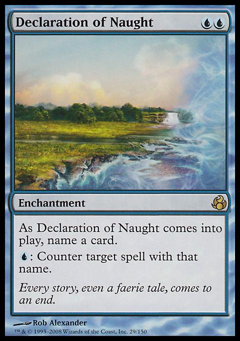 Declaration of Naught