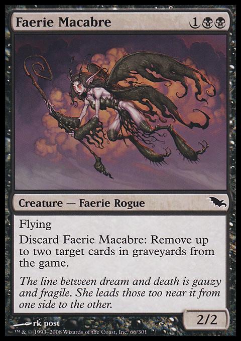 Faerie Macabre original card image
