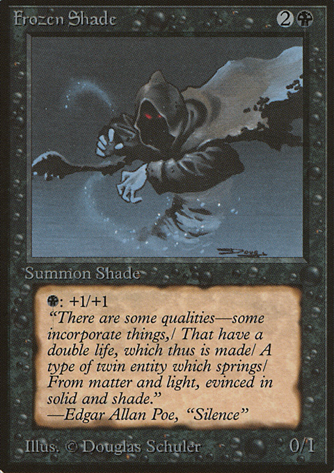 Frozen Shade card from Limited Edition Beta