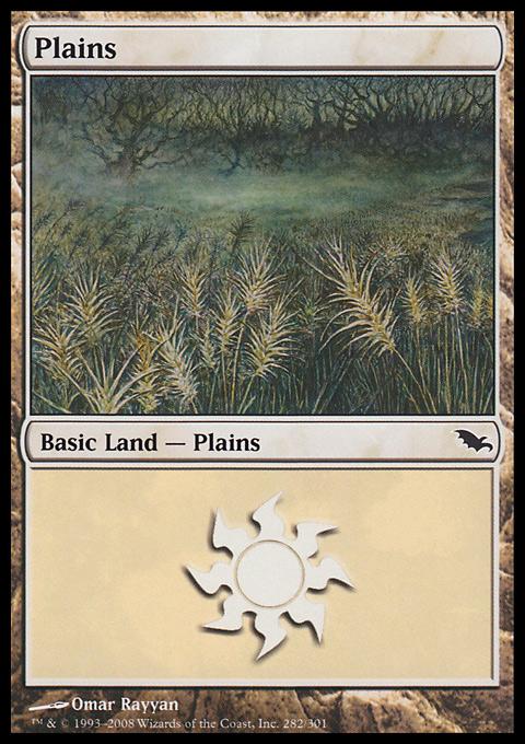 Plains (282)  card from Shadowmoor