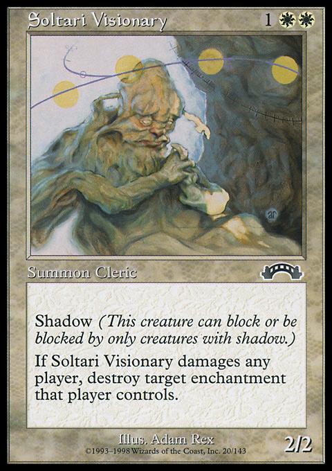 Soltari Visionary original card image