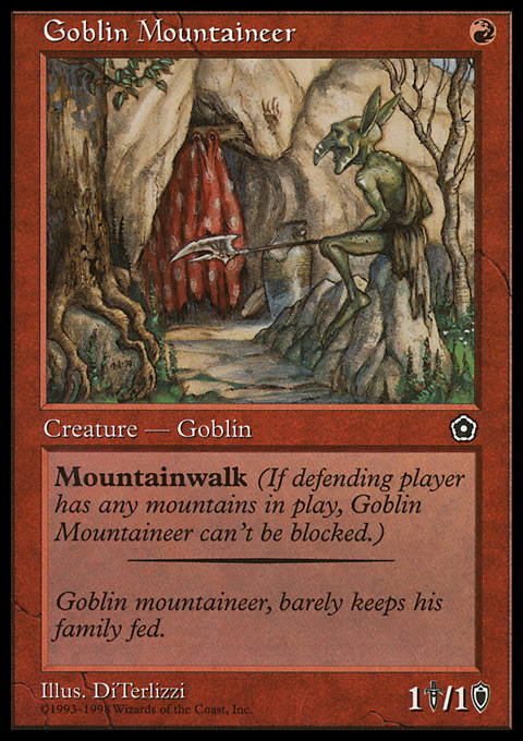 Goblin Mountaineer