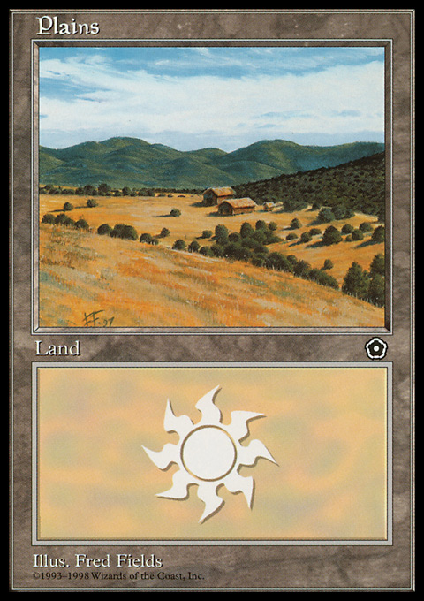 Plains (160) card from Portal Second Age