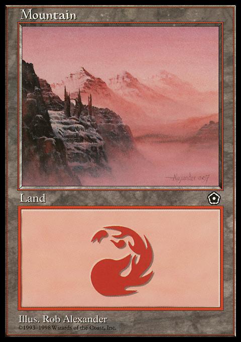Mountain original card image