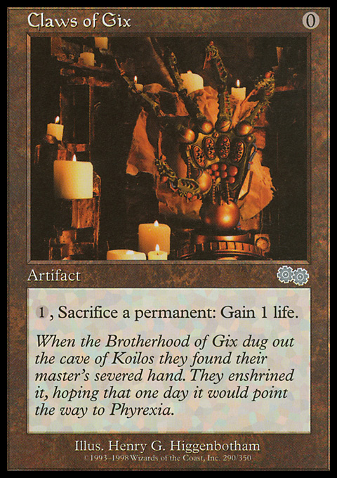 Claws of Gix original card image