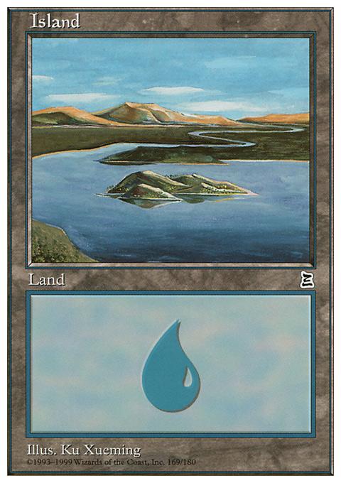 Island (169)  card from Portal Three Kingdoms