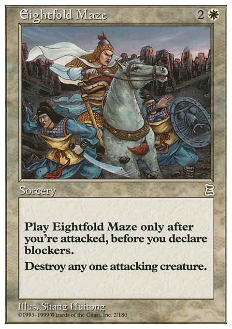 Eightfold Maze