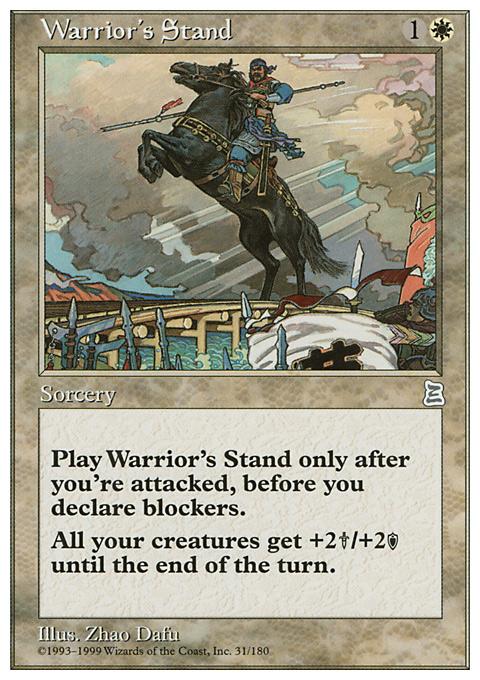 Warrior's Stand