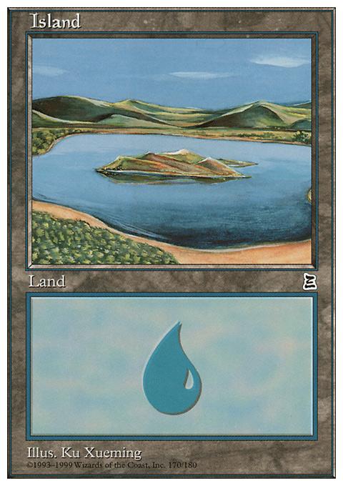 Island (170)  card from Portal Three Kingdoms