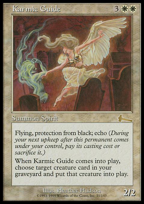 Karmic Guide original card image