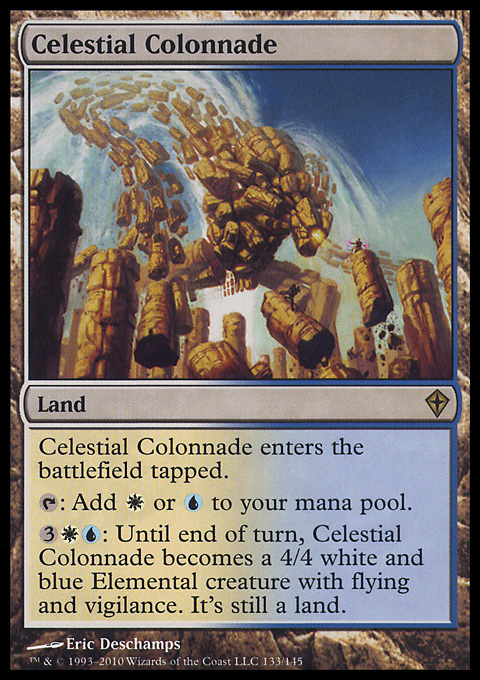 Celestial Colonnade original card image