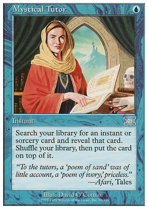 Mystical Tutor original card image