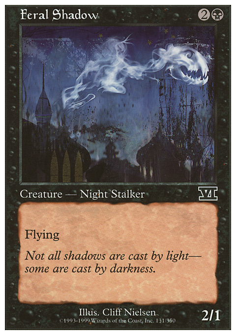 Feral Shadow card from Classic Sixth Edition