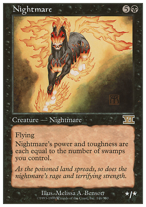 Nightmare card from Classic Sixth Edition