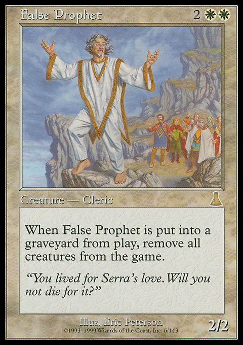 False Prophet original card image