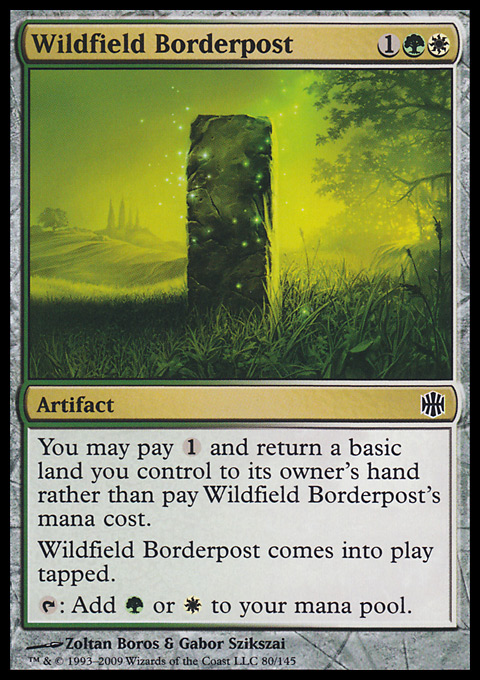 Wildfield Borderpost