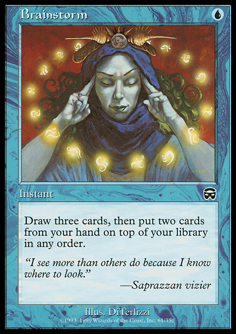 Brainstorm original card image
