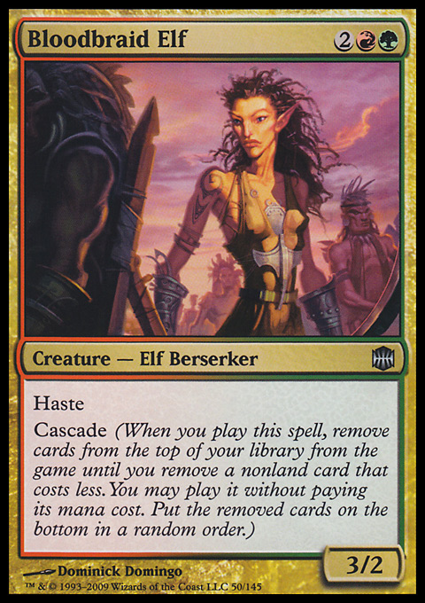 Bloodbraid Elf original card image