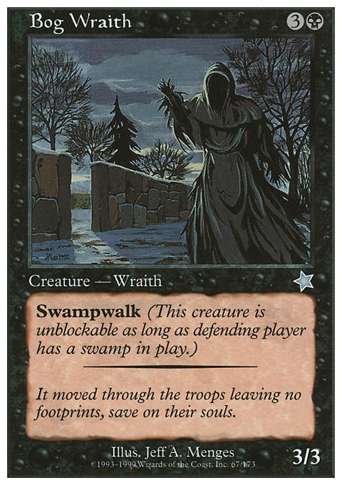 Bog Wraith card from Starter 1999