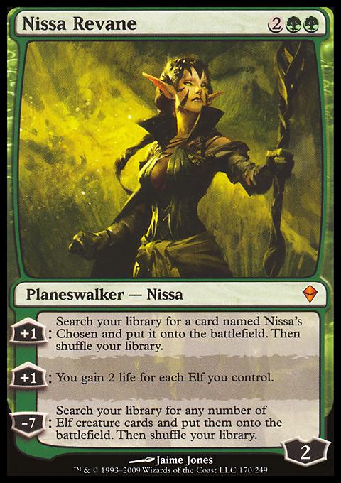 Nissa Revane original card image