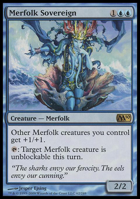 Merfolk Sovereign original card image