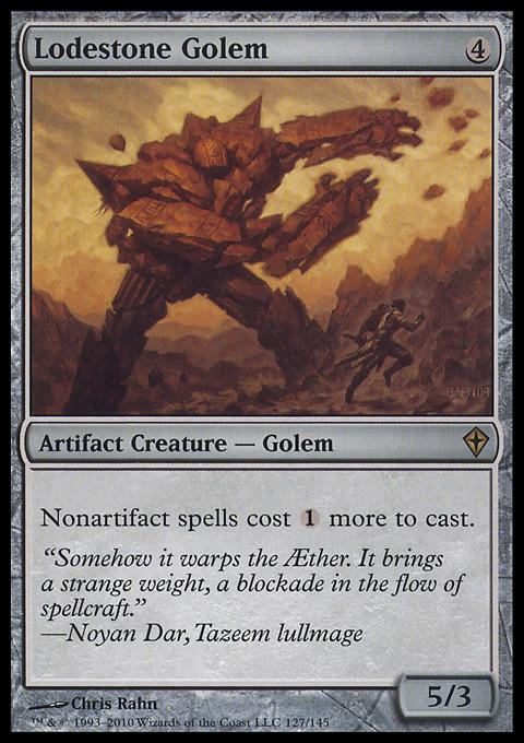 Lodestone Golem original card image