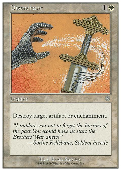 Disenchant card from Battle Royale Box Set