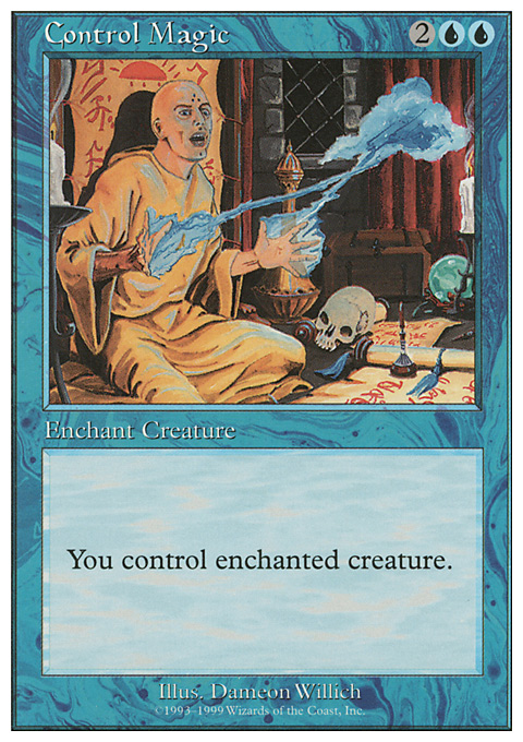 Control Magic card from Battle Royale Box Set