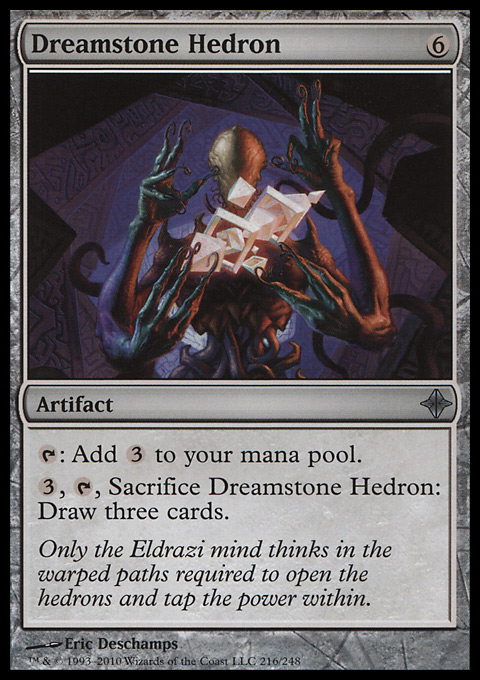 Dreamstone Hedron original card image